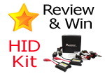 Write a review to win a HID conversion kit