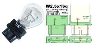 3157 3156 LED bulbs
