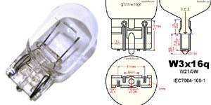 7443 T20 wedge light bulbs, will replace the following bulb size: 7440 7441 7443 7444 992 W21W, etc.