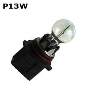 P13W bulbs