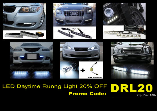 LED Daytime Running Light Super Sale