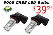 Day 6: 9005 CREE LED Bulbs