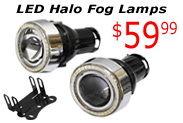 Day 12: LED Halo Fog Lamps