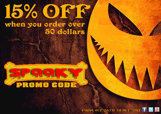 iJDMTOY Halloween Sale 15% OFF