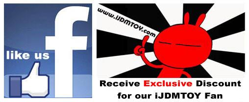 Like us on facebook and receive exclusive discount for our fans!
