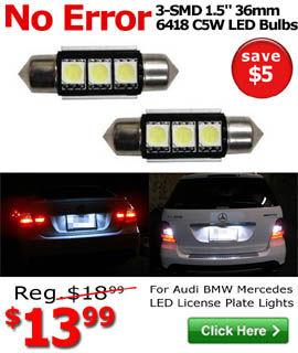6418 Error Free LED Bulbs On Sale