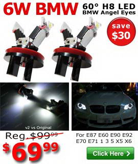 6W E90 E92 BMW Angel Eyes On Sale