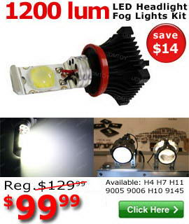 LED Headlights On Sale!