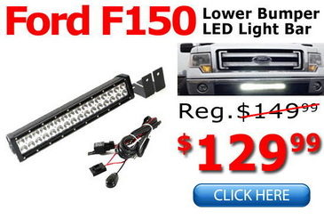Ford F-150 LED Light Bar System Combo