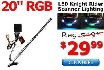 LED Scanner Light Bar