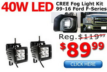 CREE LED Fog Light Converison