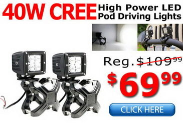 High Power LED Pod Driving Lights
