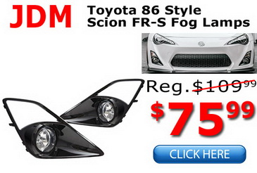 Scion FR-S Fog Lamps