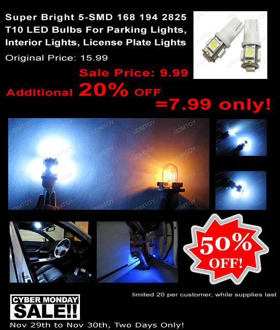 Super Bright SMD LED Bulbs Huge Sale!