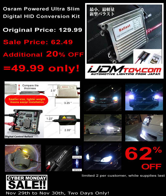 Great Deal on HID Conversion Kit and HID Bulbs. Discount Up To 62% OFF