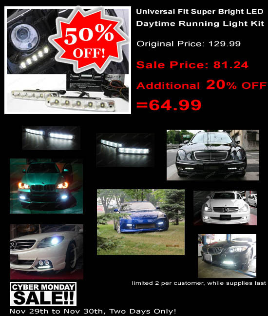 LED Daytime Running Lights Sale Up To 50% OFF