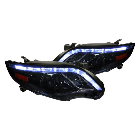 2011-up Toyota COROLLA Black Housing Projector Headlights
