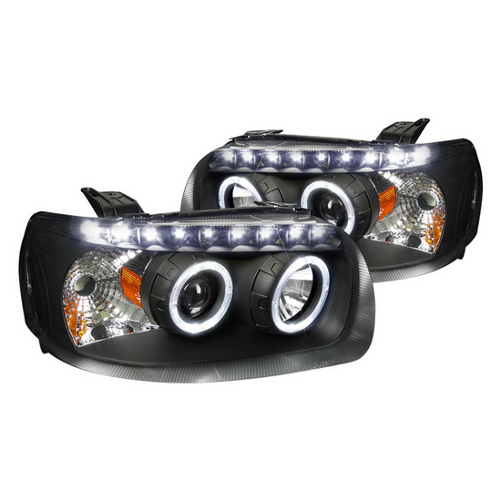 2005-2007 Ford ESCAPE Black Housing Projector Headlights