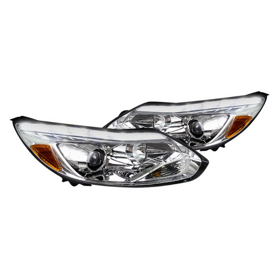 2012-up Ford FOCUS Chrome Housing Projector Headlights