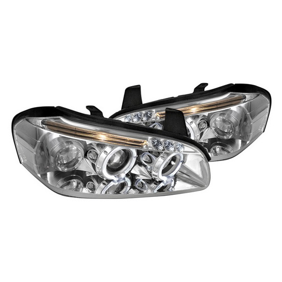 2000-2001 Nissan MAXIMA Chrome Housing Projecotr Headlights