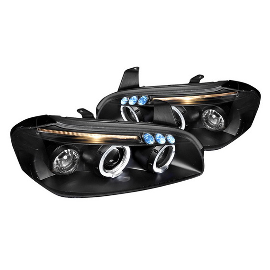 2000-2001 Nissan MAXIMA Black Housing Projecotr Headlights