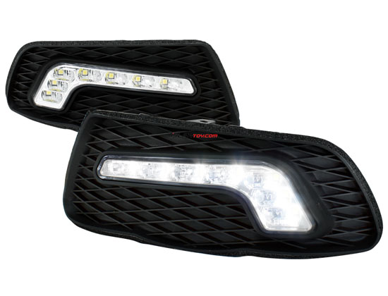 2008-2010 Mercedes W204 C Class LED Daytime Running Lights