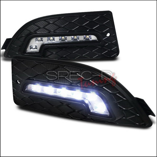 Exact Fit 2005-2006 Acura RSX LED Daytime Running Lights
