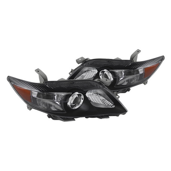 2010-2011 Toyota Camry Black Housing Projector Headlights
