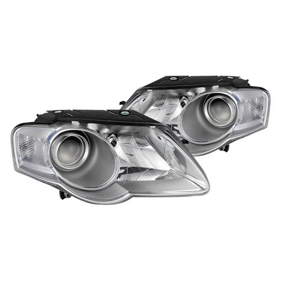 2006-2010 Volkswagen Passat Chrome Housing Projector Headlights