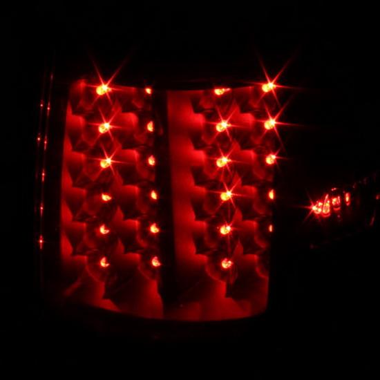 07-13 Toyota Tundra Black Housing LED Tail Lights