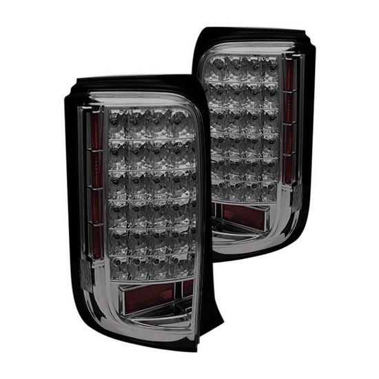 08-10 Scion XB Smoke Housing LED Tail Lights