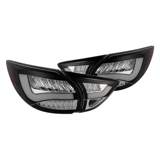 13-15 Mazda CX-5 Black Housing LED Tail Lights