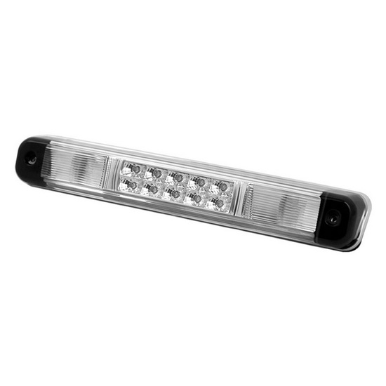 88-98 Chevy GMC C10 Chrome Lens LED 3rd Brake Light Assembly