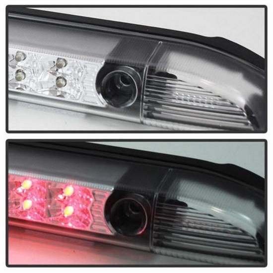 01 04 Nissan Frontier Chrome Lens Led 3rd Brake Light Assembly