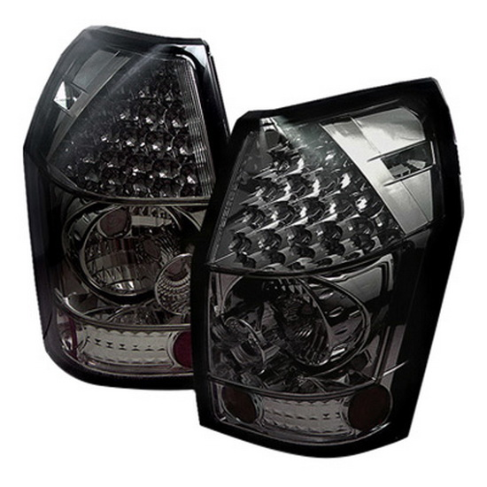 2005-2008 Dodge Magnum Smoke Housing LED Tail Lights