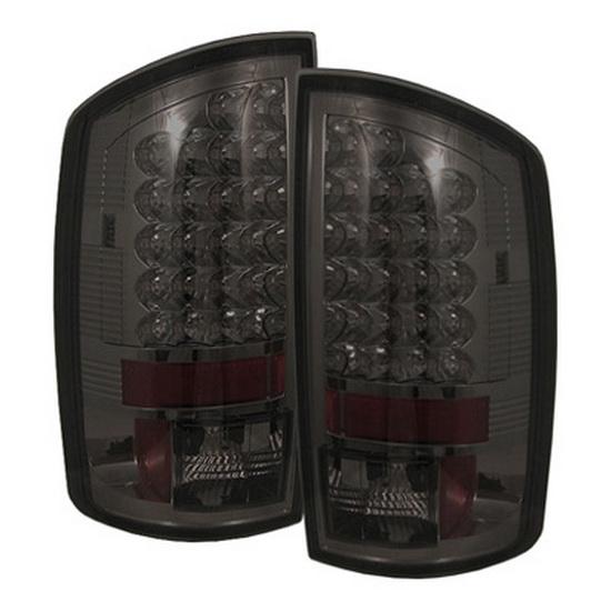 2002-2006 Dodge Ram 1500/2500/3500 Smoke Housing LED Tail Lights