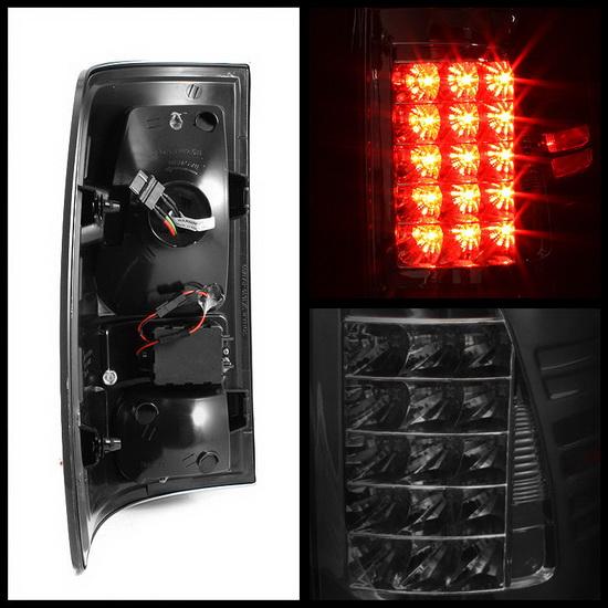 2009-2012 Dodge Ram 1500/2500/3500 Smoke Housing LED Tail Lights