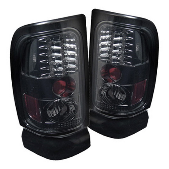 1994 2001 dodge ram 1500 2500 3500 smoke housing led tail lights. Black Bedroom Furniture Sets. Home Design Ideas