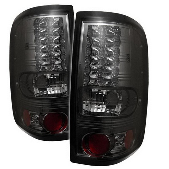 2004-2008 Ford F150 Styleside Smoke Housing LED Tail Lights