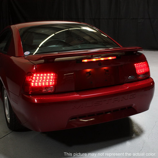 1999 04 ford mustang smoke housing led tail lights. Black Bedroom Furniture Sets. Home Design Ideas