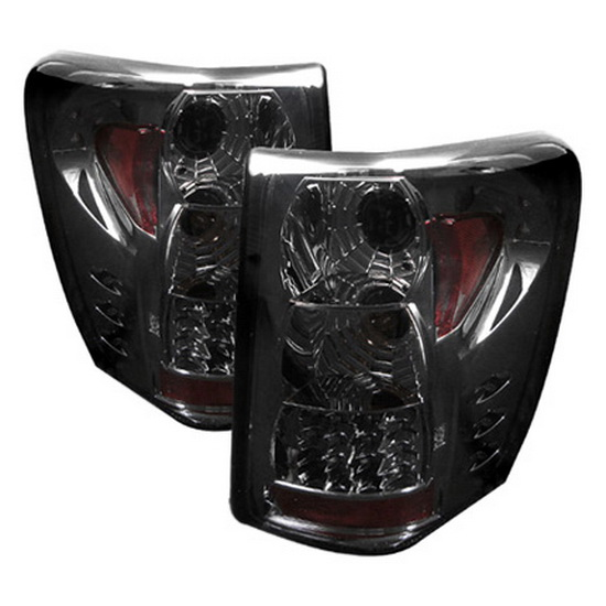 1999-2004 Jeep Grand Cherokee V2-Upgraded Smoke Housing LED Tail Lights