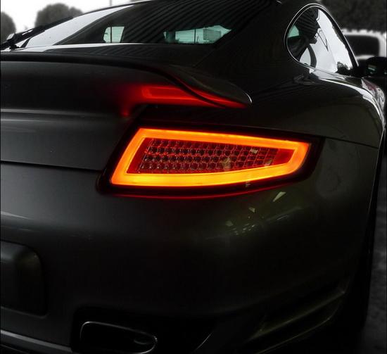 2005-2008 Porsche 911 997 Red Lens LED Tail Lights
