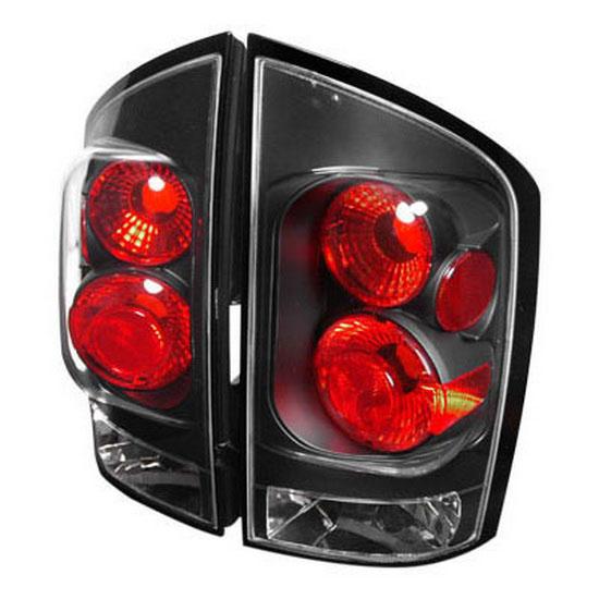 05-07 Nissan ARMADA 4DR MODELS Black Housing JDM Style Altezza Tail Lights