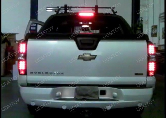 07-11 Chevrolet AVALANCHE Black Housing LED Tail Lights