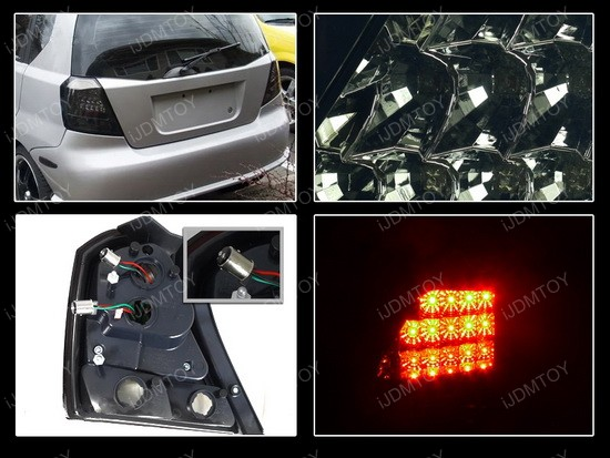 2008 Chevrolet Aveo Smoke LED Tail Lights