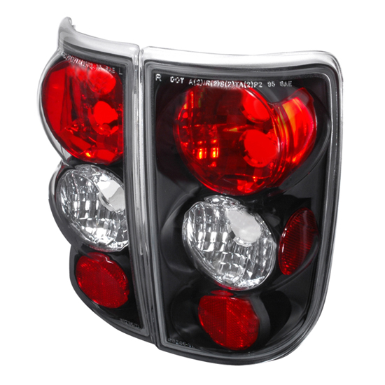 95-02 Chevrolet BLAZER/JIMMY Black Housing Euro Style Altezza Tail Lights