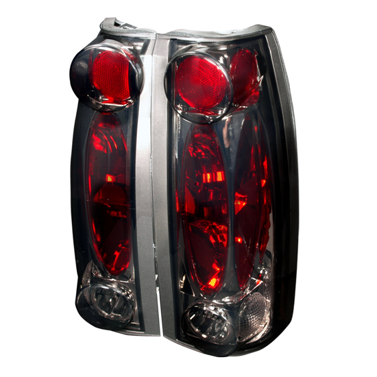 88-98 Chevrolet C10 Pickup Smoked Lens Euro Style Altezza Tail Lights