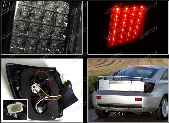 LT CEL00BBLED TM 4 00 05 toyota celica black housing smoke lens led tail lights toyota celica tail light wiring diagram at gsmportal.co