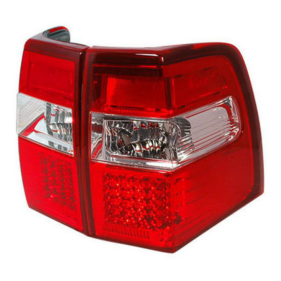 2007-2012 Ford EXPEDITION Red Lens Euro Style LED Tail Lights