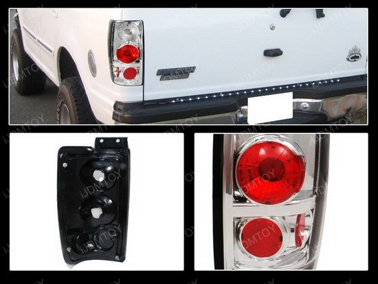 97-02 Ford Expedition Altezza Style Clear Euro Tail Lights